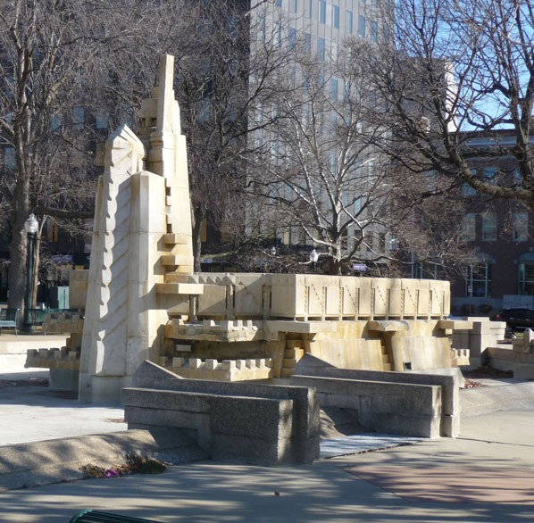 Fountain of the pioneers