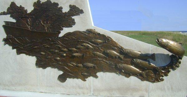 Sportfishingsculpture