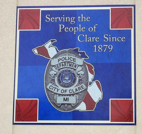 City of clare police dept