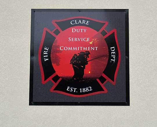 Clare fire department