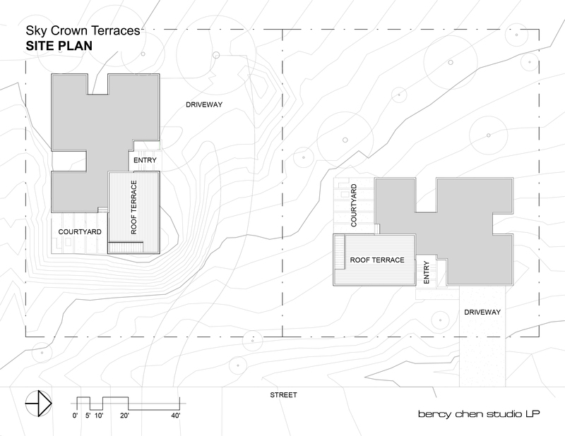 Sky crown terraces site plan