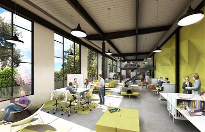 Marketing mezzanine view new layout