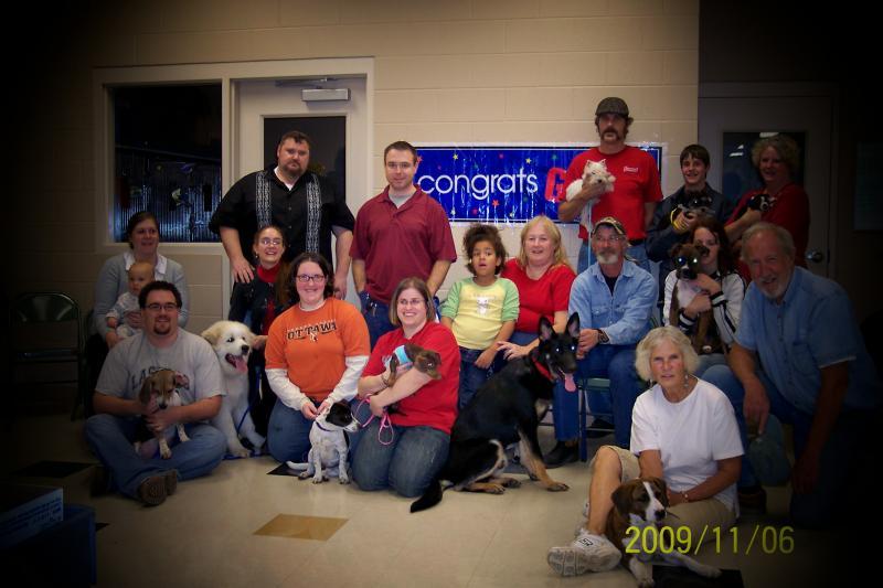 2009 Puppy Graduating Class 5
