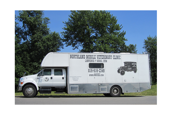 Our Mobile Vet Vehicle