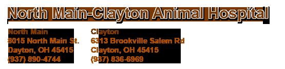 North Main-Clayton Animal Hospital