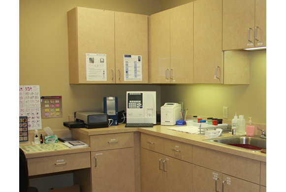 Laboratory Area and Equipment