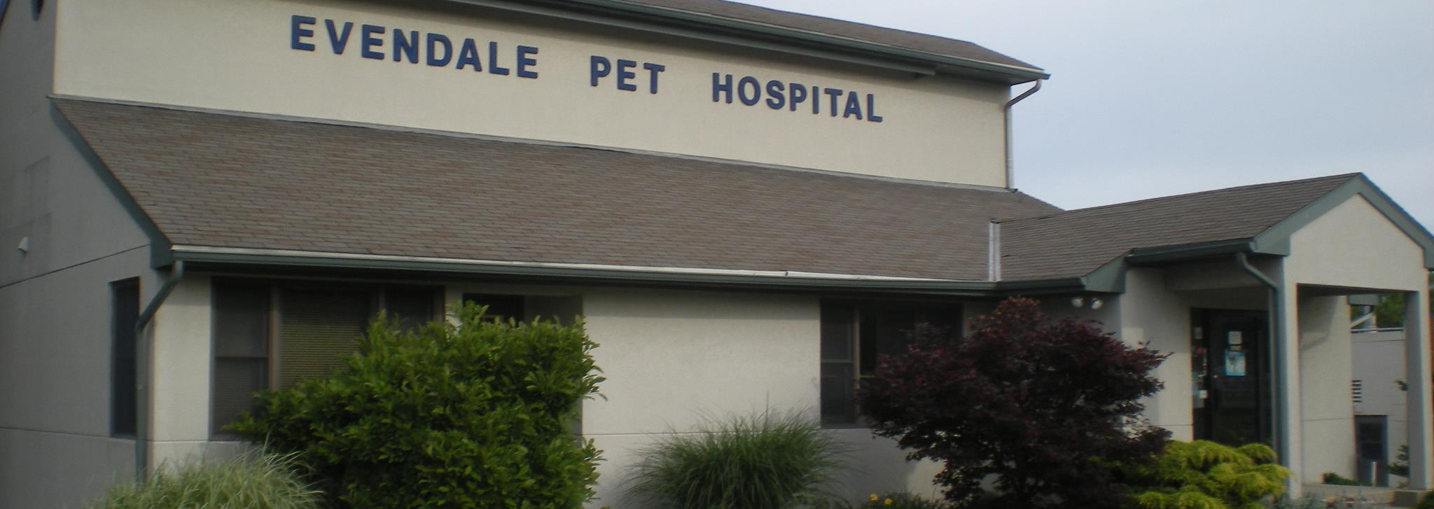 Front view of Evendale Pet Hospital