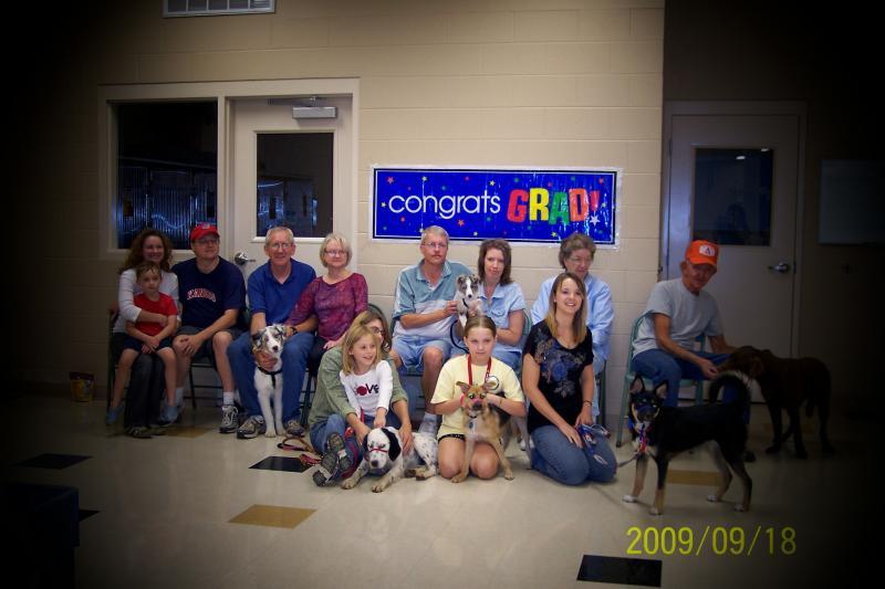 2009 Puppy Graduating Class 4