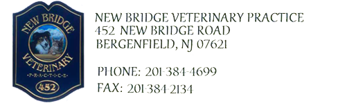 New Bridge Veterinary Practice, DVM, VMD, Bergenfield New Jersey Logo