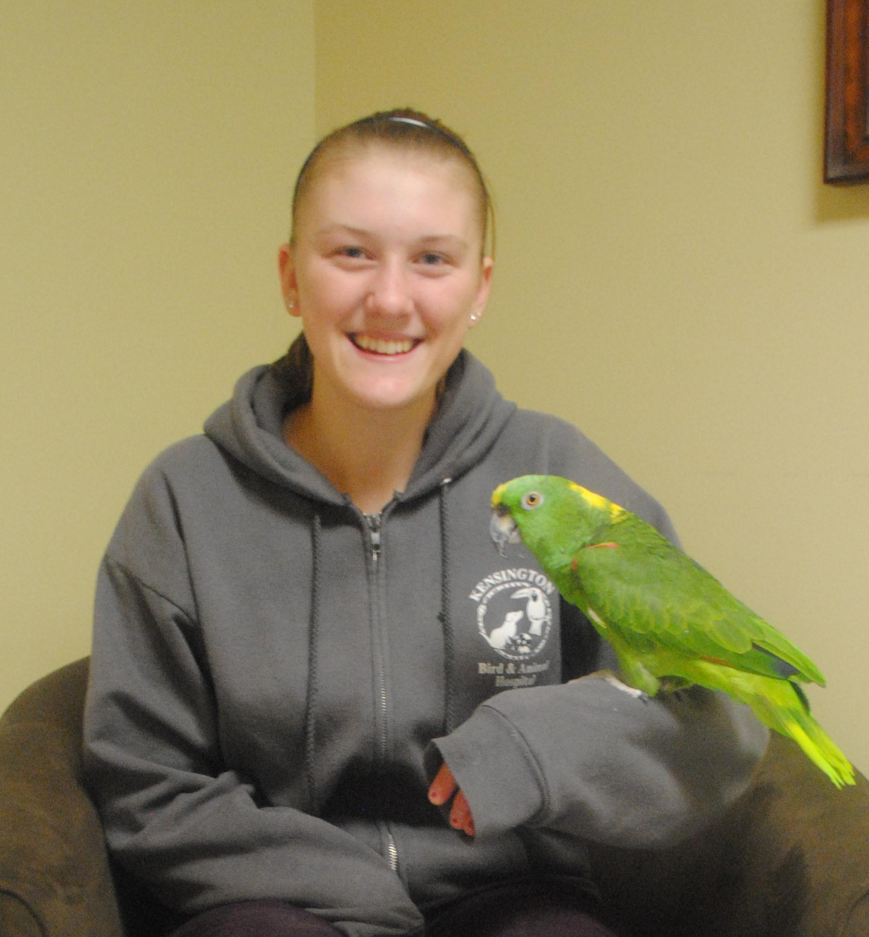 kensington bird and animal hospital veterinarians and staff valerie slimskey