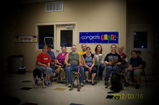 2012 Puppy Graduating Class 1