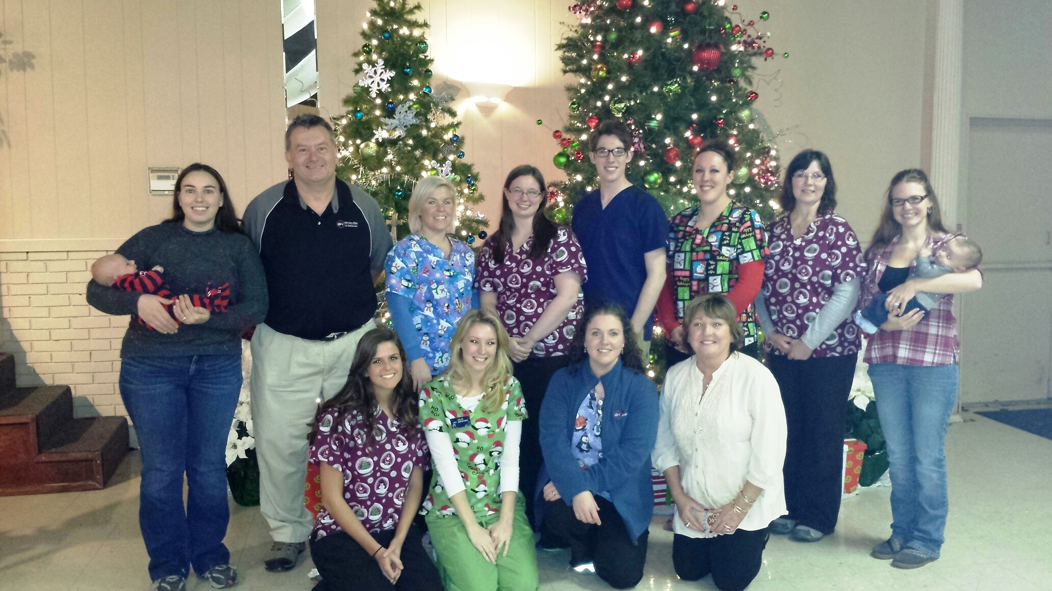staff Christmas 2014