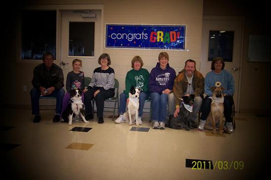 2011 Puppy Graduating Class 2