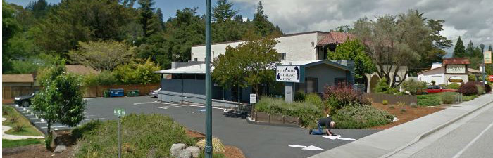 The outside of our clinic in Scotts Valley, CA