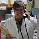 Dr. Boyett on the phone