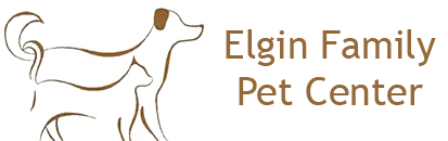 Elgin Family Pet Center logo