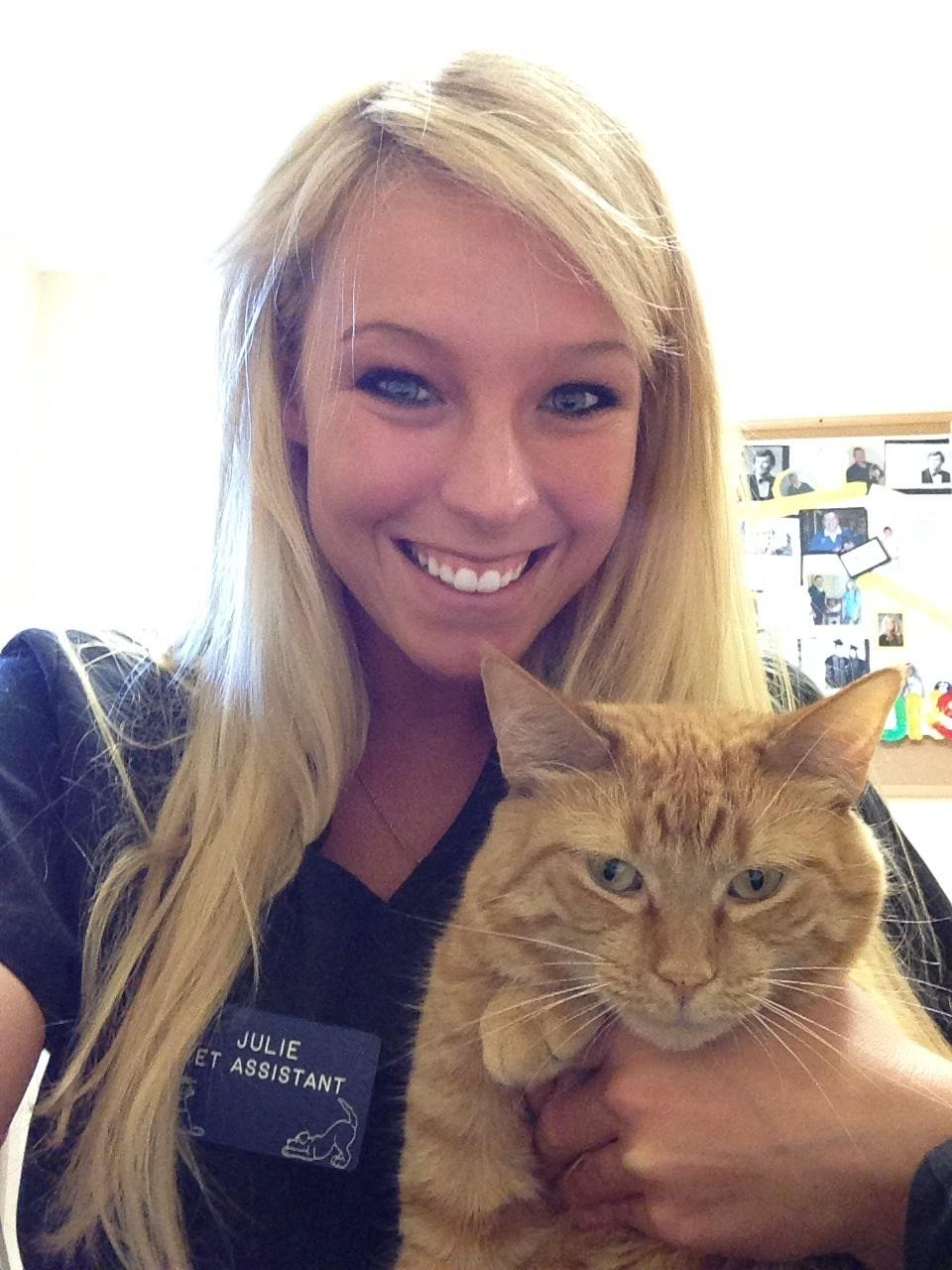 Julie, Veterinary Assistant