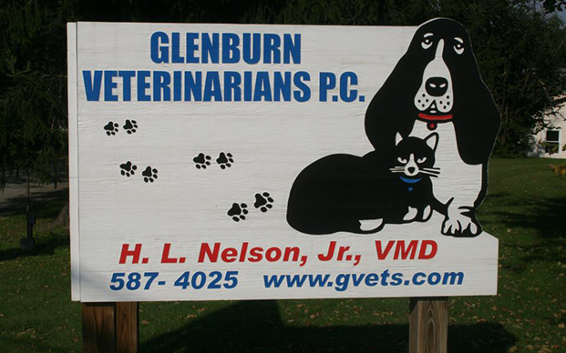 The sign outside the clinic in Clarks Summit, PA