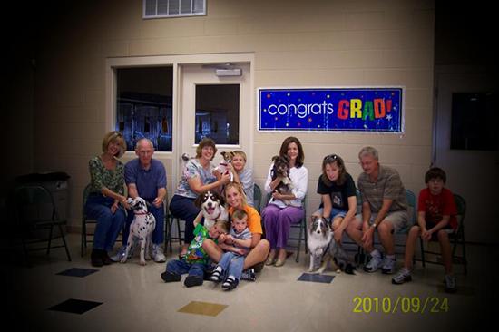 2010 Puppy Graduating Class 5