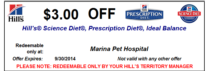Hill's science diet treats coupons