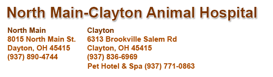 North Main-Clayton Animal Hospital logo