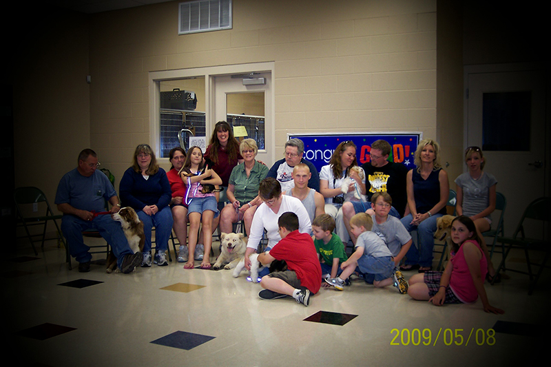 2009 Puppy Graduating Class 2