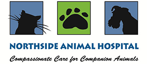 Northside Animal Hospital logo, Compassional Care for Companion Animals