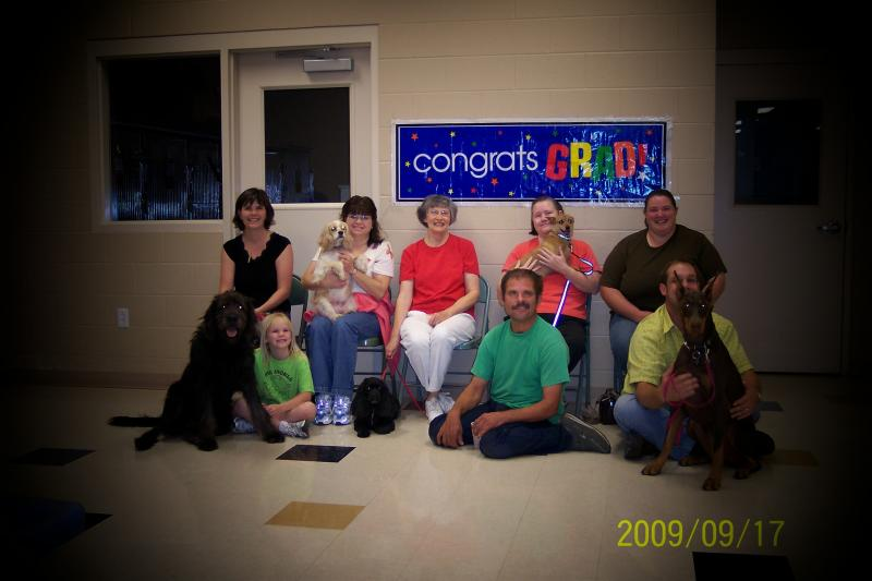 2009 Adult Graduating Class 1