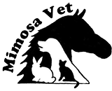 Mimosa Veterinary Hospital logo