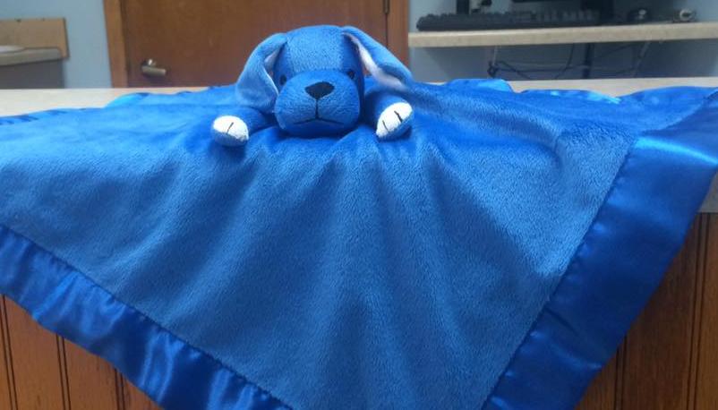 Cuddly Puppy Blanket