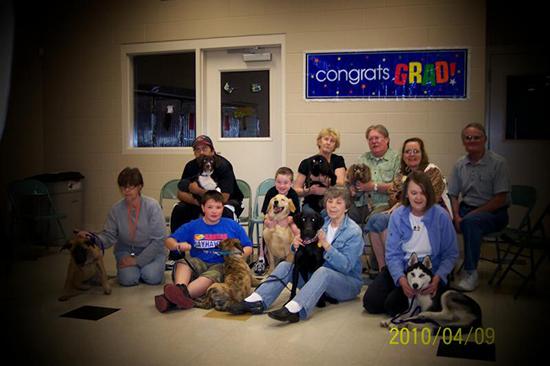 2010 Puppy Graduating Class 2