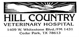 Hill Country Veterinary Hospital logo