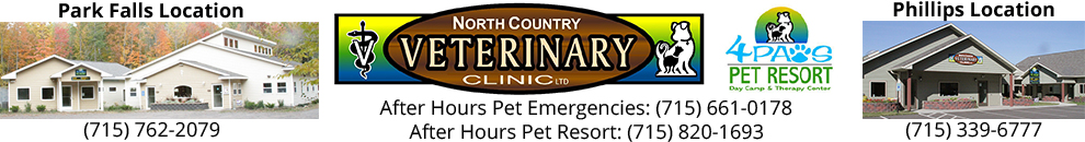 North Country Veterinary Clinic logo