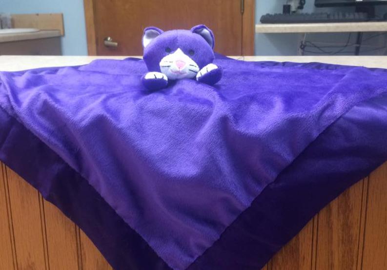 Cuddly Cat Blanket