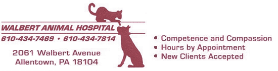 Walbert Animal Hospital logo