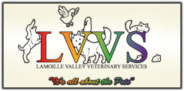 LVVS Logo, It's all about the Pets.
