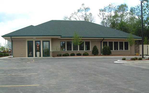 The outside of our veterinary hospital in Greenfield, WI