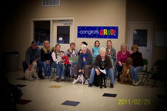 2011 Puppy Graduating Class 1