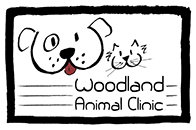 Woodland Animal Clinic logo