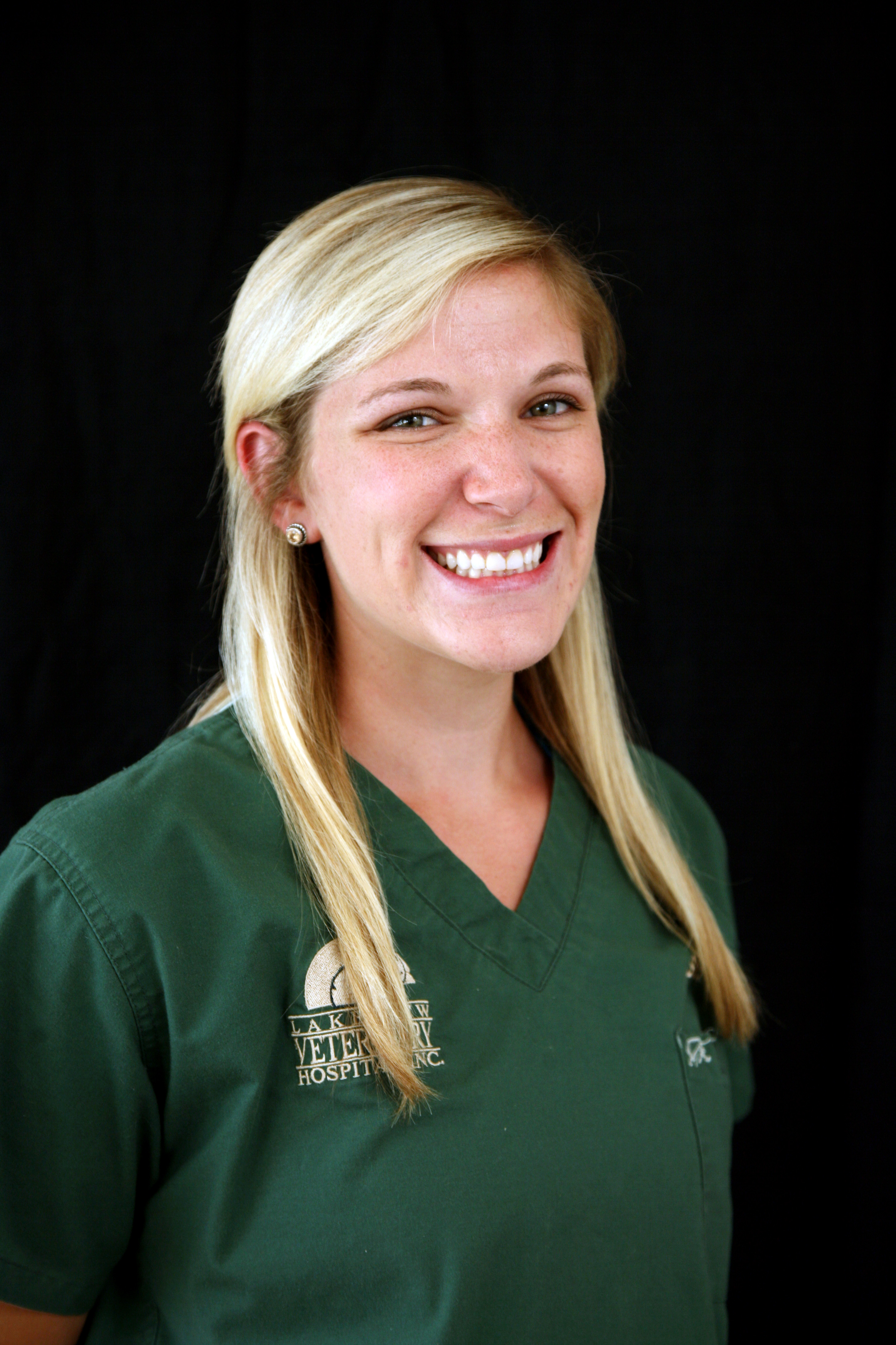 Staci Sternberger, Veterinary Nurse