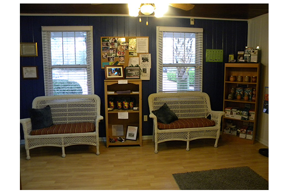 Veterinary Waiting Area