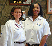 Doctors Sharon Moroz and Tiffany Altman, DVM