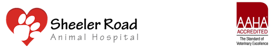 Sheeler Road Animal Hospital and AAHA logo