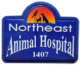 Northeast Animal Hospital Sign