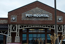 The outside of our veterinary hospital in Spring Hill, TN