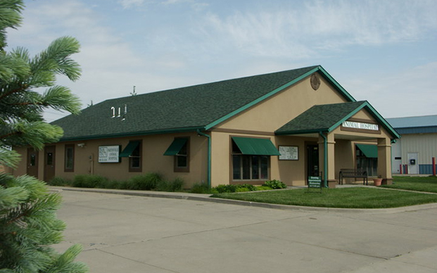 The outside of our animal hospital in Smithville, MO