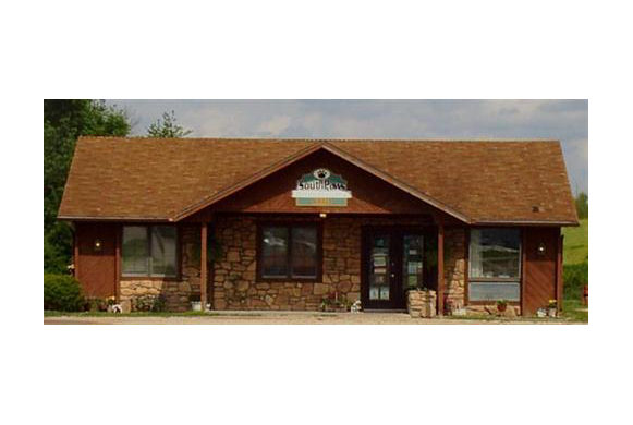 The outside of our veterinary hospital in Maryville, MO