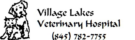Village Lakes Veterinary Hospital logo, (845) 782-7755