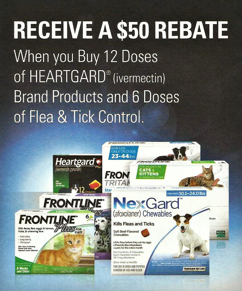 Image result for heartgard frontline rebates
