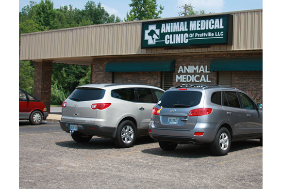 The outside of our clinic in Prattville, AL